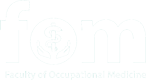 Faculty of Occupational Medicine Logo